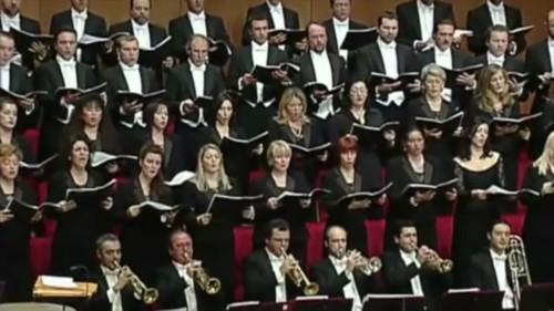 2003. Inaugurazione nuovo Teatro la FeniceSINFONIA DEI SALMI I. STRAWINSKJ