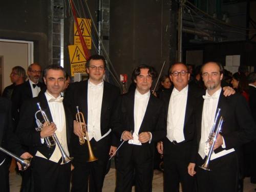 Con il M° Riccardo Muti