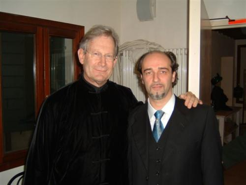 Con il M° John Elliot Gardiner